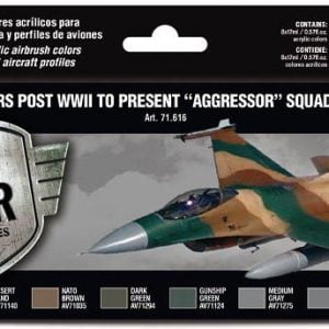 Vallejo USAF Colors Post WWII to present Aggressor Squadron Part I Paint Set 71616