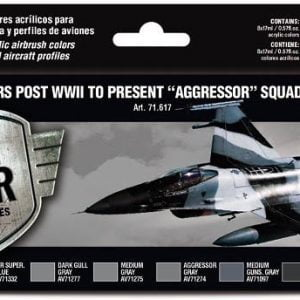 Vallejo USAF Colors Post WWII to present Aggressor Squadron Part II Paint Set 71617