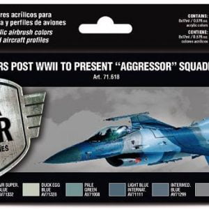 Vallejo USAF colors post WWII to present Aggressor Squadron Part III Paint Set 71618