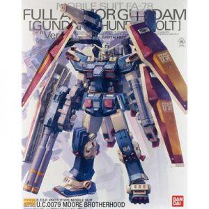 Bandai Thunderbolt Full Armor Gundam MG 207589