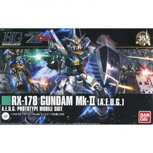 Bandai #193 RX-178 MK-II AEUG Gundam HGUC 201311