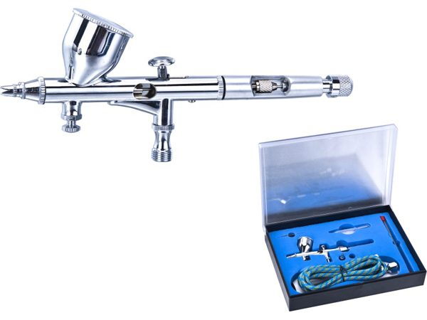 Vigiart HS-80 Dual Action Gravity Feed Airbrush case
