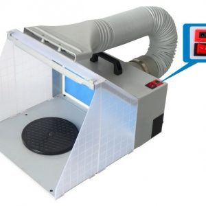 Vigiart LED Portable Spray Booth with Bonus Exhaust Vent