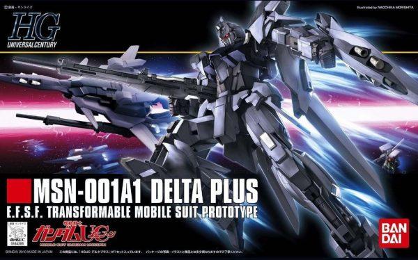 Bandai #115 MSN-001A1 Delta Plus Hi Gundam HGUC 164265