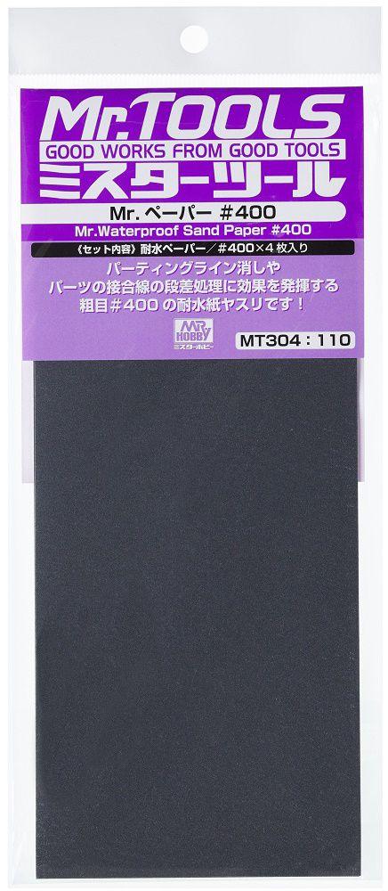 Mr Tool Mr Waterproof Sand Paper #400 Grit MT304