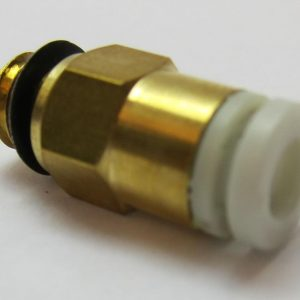 Creality M6 Brass Pneumatic Connector Extruder Side
