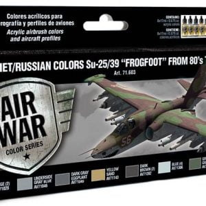 Vallejo Soviet/Russian Colors Su-25/39 Frogfoot from 80's to present 71603