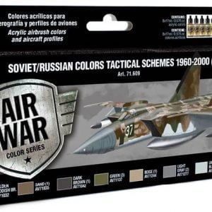 Vallejo Soviet Russian Colors Tactical Schemes 1960-2000 Part I 71609