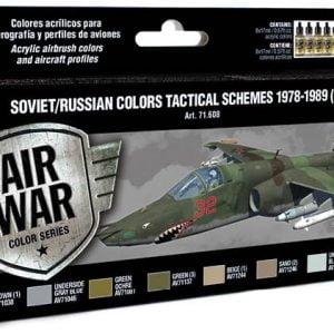 Vallejo Soviet Russian Colors Tactical Schemes 1978-1989 Part II 71608