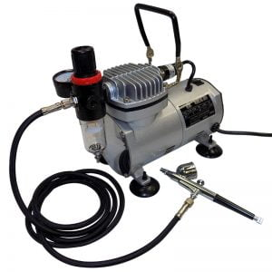 Vigiart AS18K-2 Airbrush Compressor Kit