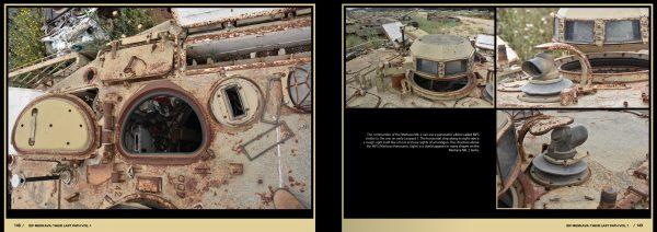 Abteilung 502 Their Last Path - IDF Tank Wrecks Merkava MK 1 and 2 ABT 606