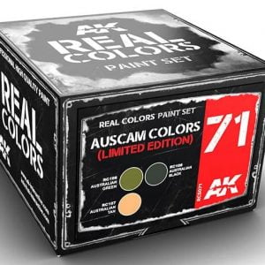 AK Interactive AUSCAM Colors Set Limited Edition AKI RSC071