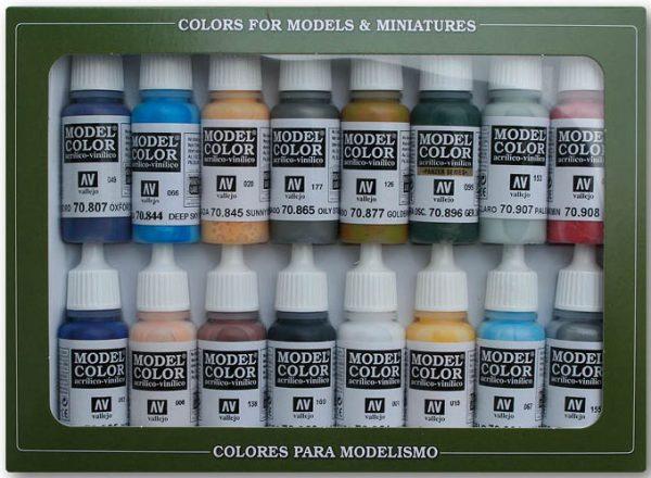 Vallejo American Civil War Paint Set 70111