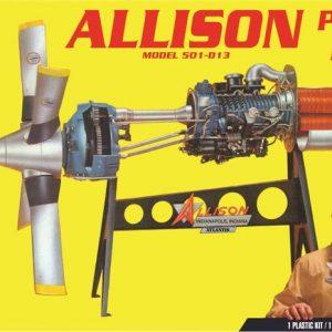 Atlantis Allison Prop Jet 501-D13 Engine H1551