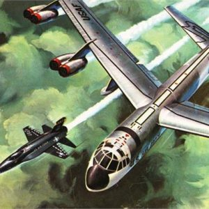 Atlantis B-52 with X-15 1/175 on Swivel Stand H273