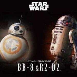 Bandai Star Wars BB-8 & R2-D2 203220