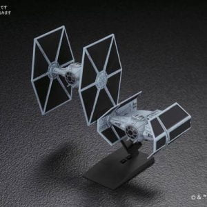 Bandai Star Wars Tie Advanced and Fighter set 214502