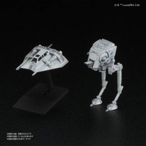 Bandai Star Wars AT-ST and Snowspeeder Set 215632