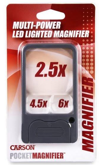 Carson LED Pocket Magnifier PM-33