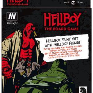 Vallejo Hellboy Paint Set 70187