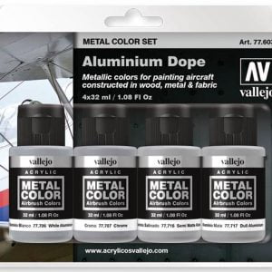 Vallejo Metal Color Set Aluminium Dope 77603