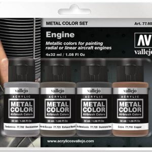 Vallejo Metal Color Set Engine 77604