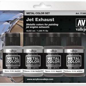 Vallejo Metal Color Set Jet Exhaust 77602