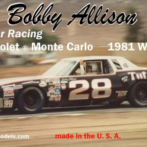 Salvinos JR Bobby Allison Chevrolet ® Monte Carlo 1981 Winner BAMC1981R