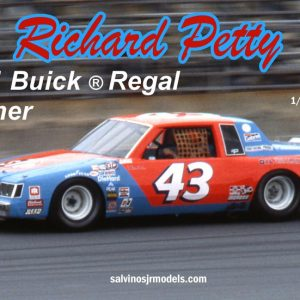 Salvinos JR Richard Petty 1981 Winner Buick Regal RPB1981D