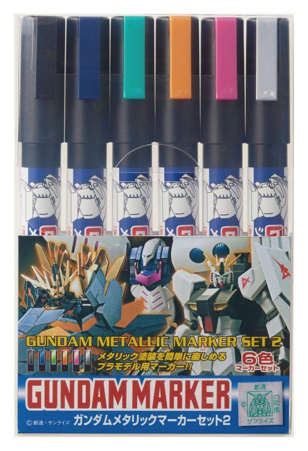 Gundam Marker Metallic Set 2 GMS125