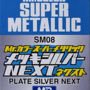 Mr Color Super Metallic Plate Silver Next SM08