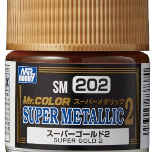 Mr Color Super Metallic 2 Super Gold 2 SM202
