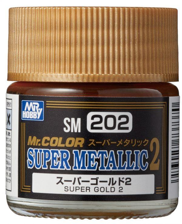 Mr Color Super Metallic 2 Super Gold 2 SM202