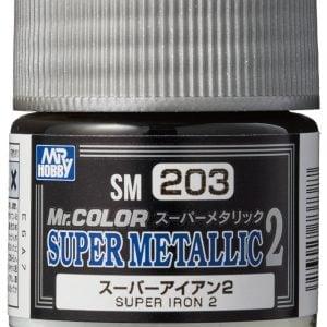 Mr Color Super Metallic 2 Super Iron 2 SM203