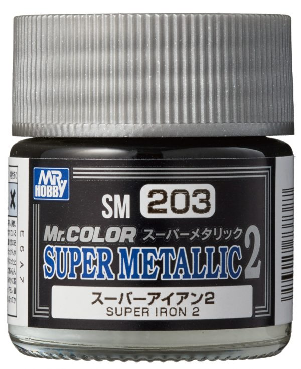 Mr Color Super Metallic 2 Super Iron 2 SM203