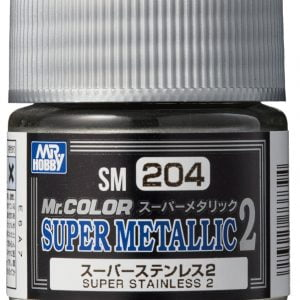 Mr Color Super Metallic 2 Super Stainless Steel 2 SM204
