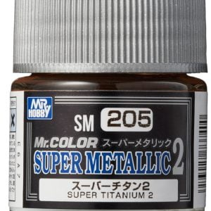 Mr Color Super Metallic 2 Super Titanium 2 SM205