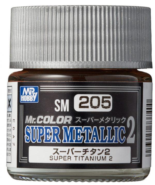 Mr Color Super Metallic 2 Super Titanium 2 SM205
