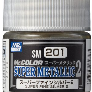 Mr Color Super Metallic 2 Super Fine Silver 2 SM201
