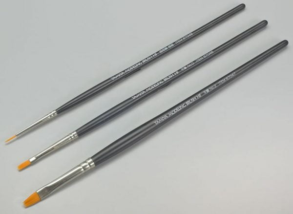 Tamiya Modeling Brush HF Standard Set 87067