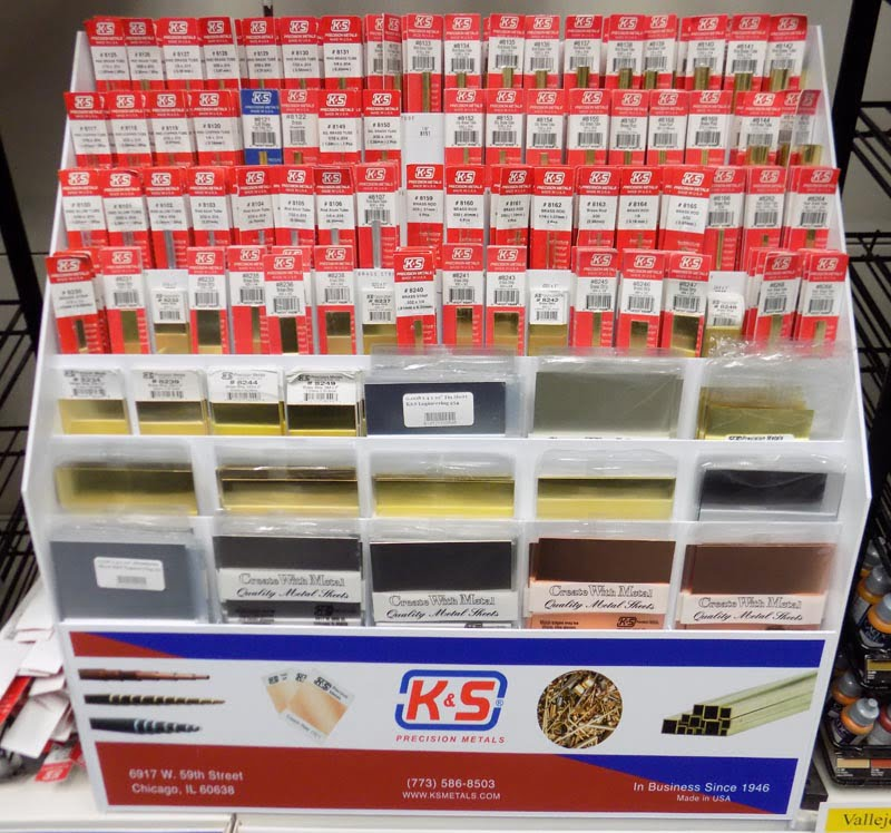 K&S Engineering Metals Now Available at Sunward Hobbies