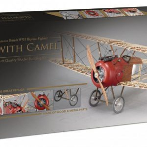Artesania Latina 1918 Sopwith Camel Fighter Kit 1/16 Scale 20351