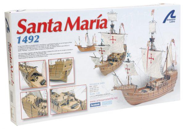 Artesania Latina Santa Maria Model Kit 1/65 Scale 22411