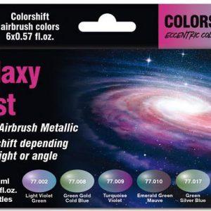 Vallejo Galaxy Dust Colorshift Paint Set 77092