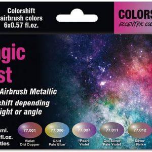 Vallejo Magic Dust Colorshift Paint Set 77090