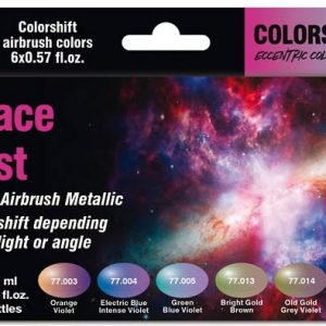 Vallejo Space Dust Colorshift Paint Set 77091