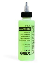 Grex Airbrush Cleaner Ultra Concentrated 4oz GXCL-04
