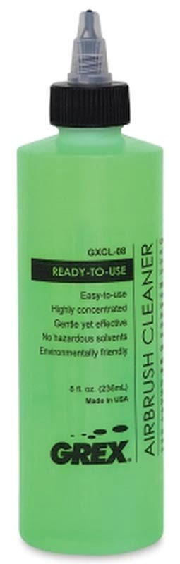 Grex Airbrush Cleaner 8oz GXCL-08