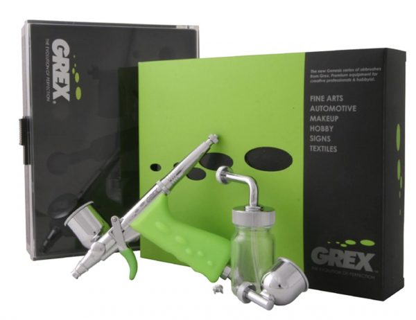 contents Grex Tritium.TS3 Dual Action Side Feed Airbrush