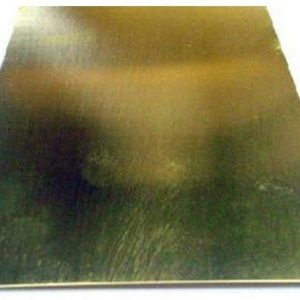 "0.016 x 4 x 10"" Brass Sheet K&S Engineering 252"